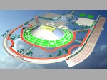 Reconstruction of the Stadium of S.M.Kirov, St Petersburg. Commendation. 2004.