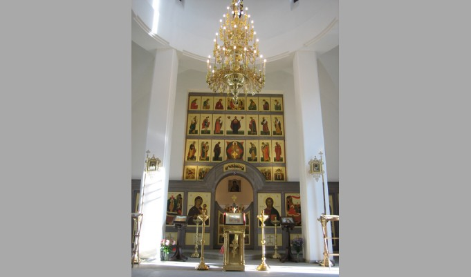 Cathedral of the Nativity of the Virgin. St Petersburg, district Kourortnyi, settlement of Aleksandrovskii. 2005.